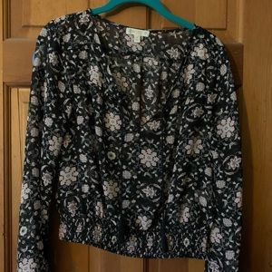 Cropped blouse